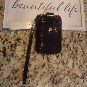 New York & Company Sequin Wristlet